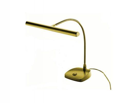 K&M 1229700040 LED Pianoleuchte goldfarbig