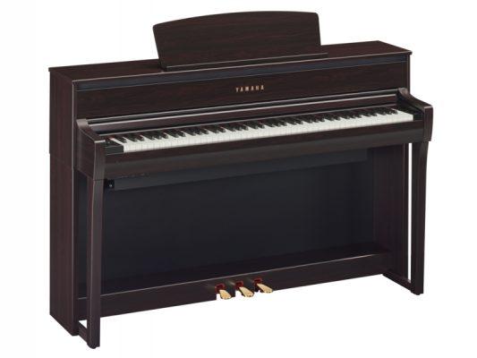 Yamaha Clavinova CLP675 Rosenholz