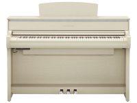 Yamaha Clavinova CLP675  White Ash Frontansicht