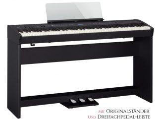 Roland FP60 Set mit Originalständer und Dreierpedaleinheit