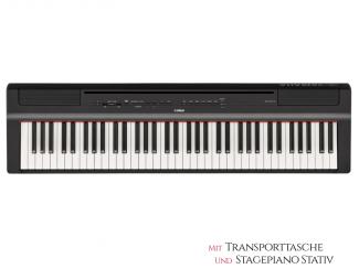Yamaha P121BSet Stagepiano, 73 Tasten