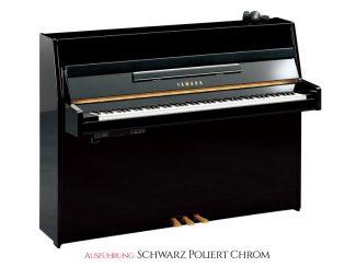 Yamaha Silent Piano B1SC2PEC schwarz poliert, Chrom