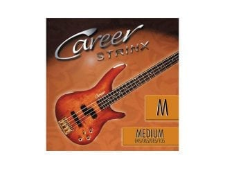 Career 227304 Bass-Saiten Medium 4-string