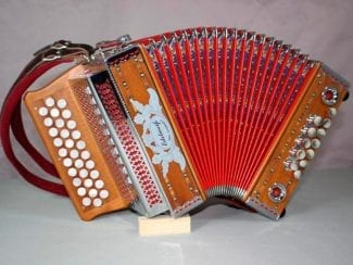 Kärntnerland 32edwMINI Harmonika Edelweiss Mini B-Es-As