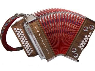 Kärntnerland 32edwgcf Harmonika Edelweiss g-c-f