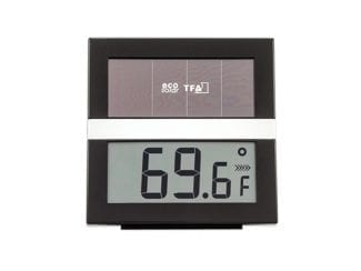 TFA 760955 Hygrometer ECO-Solar schwarz