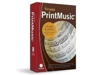 Finale CODHPMR2014D MakeMusic PrintMusic 2014