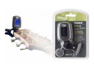STAGG CTUC5BK Clip Tuner
