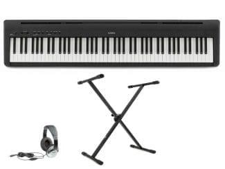 Kawai ES100B Stagepiano Set: inkl. Kopfhörer und Ständer