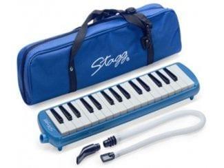 STAGG MELOSTA32BL Melodica 32 Tasten blau