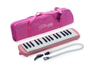 STAGG MELOSTA32PK Melodica 32 Tasten pink