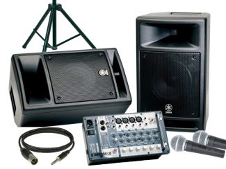 PA-Equipment und Audiotechnik