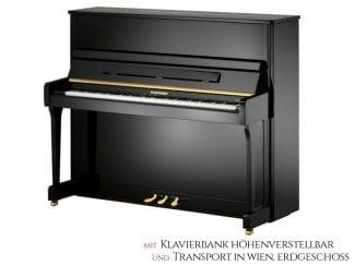 W.Hoffmann V120SP Piano 120cm schwarz Set