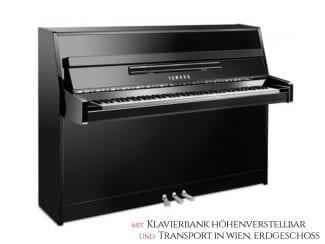Yamaha B1PEC Piano schwarz poliert Chrom Set