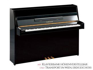 Yamaha B1PE Piano schwarz poliert Set
