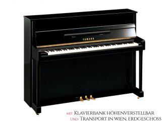 Yamaha B2EPE Piano schwarz poliert Set