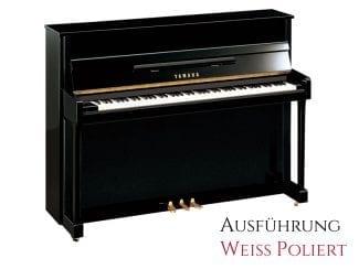 Yamaha B2EPWH Piano weiß poliert