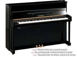 Yamaha B2ESG2PWH Silent Piano weiß poliert Set