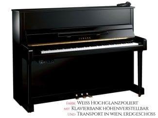 Yamaha B3ESG2PWH Silent Piano weiß poliert Set
