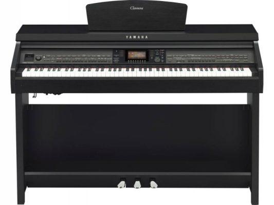 Yamaha CVP701B Clavinova Digitalpiano, schwarz matt