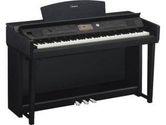 Yamaha CVP705B Clavinova Digitalpiano, schwarz matt