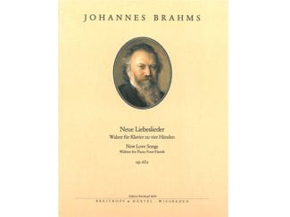 Brahms J. EB6034 Neue Liebeslieder Op. 65a