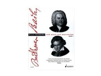 Schott Album ED2174 Von Bach bis Beethoven I