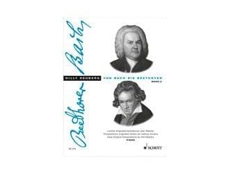 Schott Album ED2175 Von Bach bis Beethoven Band II