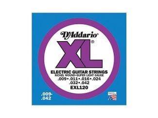 D`Addario EXL120 E-Gitarre Saitensatz 009-042