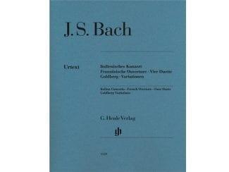 Bach J. S. HN1129 Ital. Konzert/Frz. Ouverture