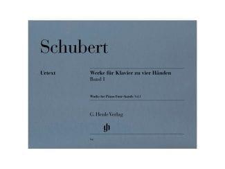 Schubert F. HN94 Werke für Klavier 4hdg.