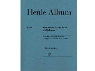Henle Album HN951 Klaviermusik von Bach bis Debussy