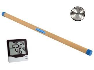 Luftbefeuchter und Hygrometer