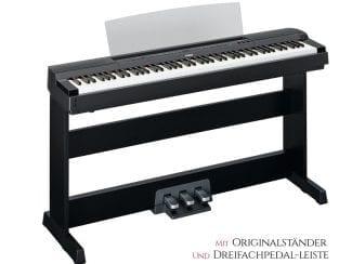 Yamaha P255SB Stagepiano Set, schwarz