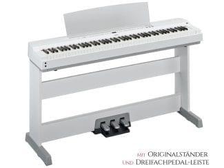 Yamaha P255WH Stagepiano Set, weiß