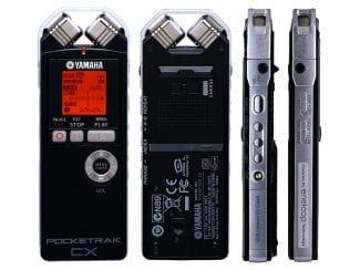 Yamaha POCKETRAKCX Pocketrak Digitalrekorder