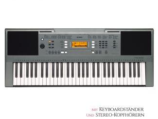 Yamaha PSRE353 Keyboard Set: inkl. Keyboardständer und Kopfhörer