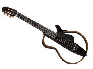 Yamaha SLG200NTBL Silent Gitarre Nylon Strings, black