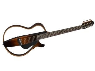 Yamaha SLG200STBS Silent Gitarre Steel Strings, braun