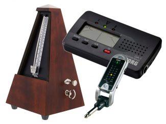 Stimmgeräte und Metronome