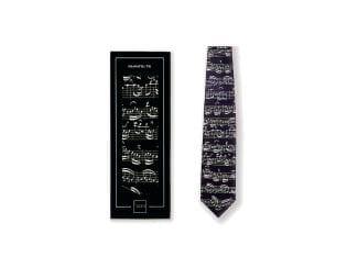 Vienna World T0325 Krawatte schwarz