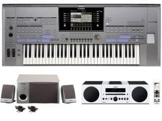 Yamaha Tyros5-61XLStereobundle Workstation mit HiFi Anlage/Speaker