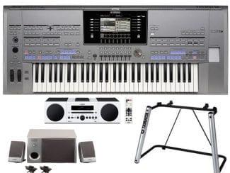 Yamaha Tyros5-61XXLStereobundle Workstation mit HiFi/Speaker/Stand