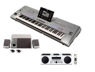 Yamaha Tyros5-76XLStereobundle Workstation mit HiFi Anlage/Speaker