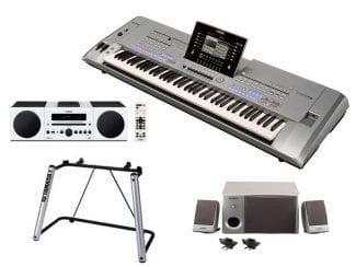 Yamaha Tyros5-76XXLStereobundle Workstation mit Hi-Fi/Speaker/Stand