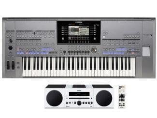 Yamaha Tyros5-61Stereobundle Workstation mit HiFi Anlage