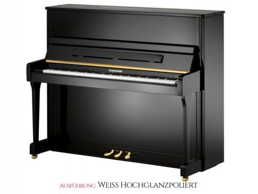 W.Hoffmann V120WHP Piano 120cm weiß poliert