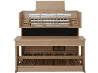 Johannus Vivaldi150 Orgel Eiche hell