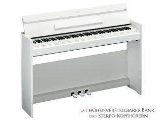 Yamaha YDPS52WH Arius Digitalpiano Set, weiß matt