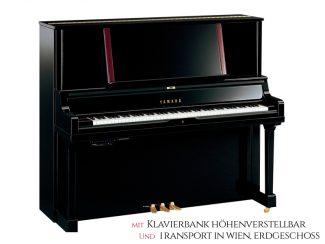 Yamaha YUS5SHTAPE TransAcoustic Piano Set, schwarz poliert, 131cm